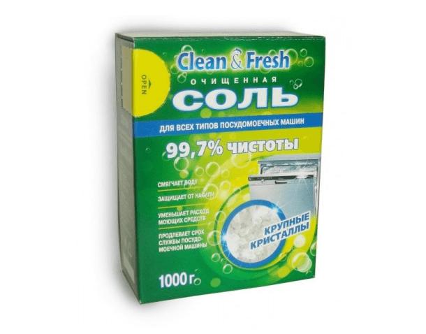 Недорогая соль для ПММ Clean Fresh