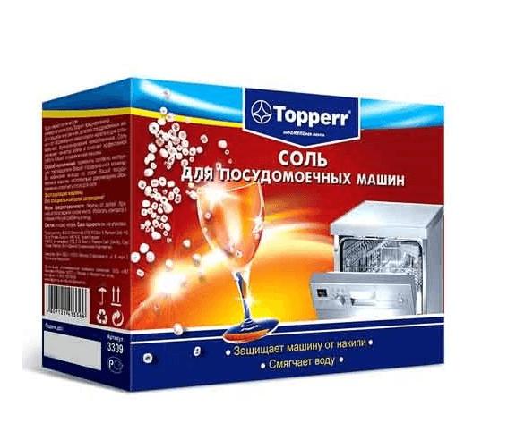 Соль Topperr в порошках и таблетках