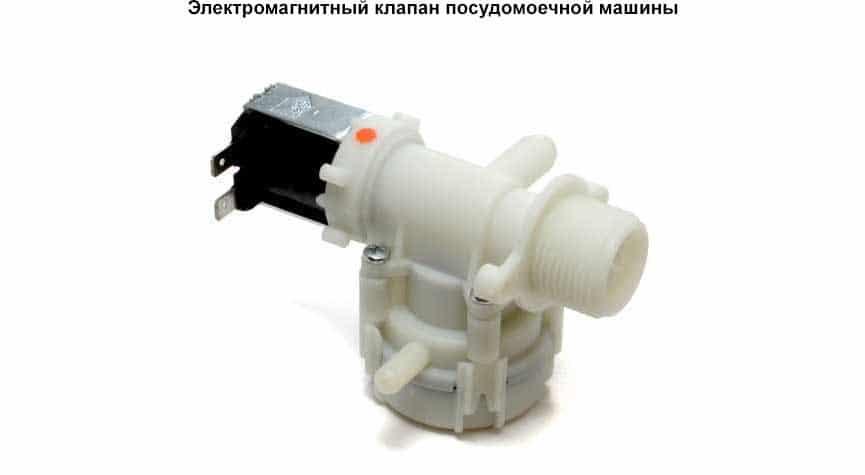 Электромагнитный клапан в ПММ