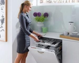 ПММ в кухонном интерьере