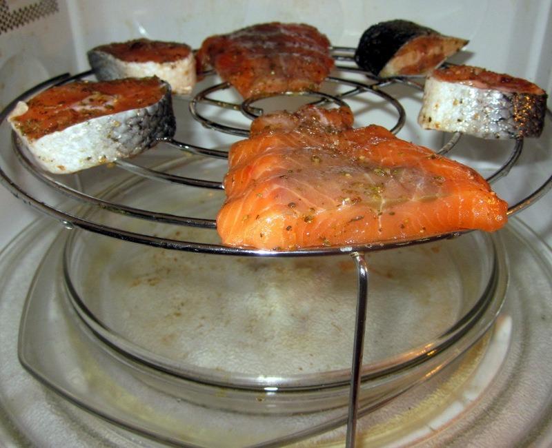 Неправильное приготовление рыбы в микроволновке