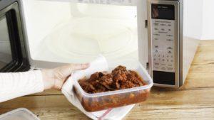 Приготовление пищи в СВЧ