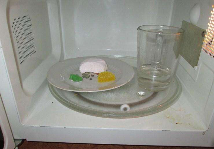 Тест посуды в СВЧ