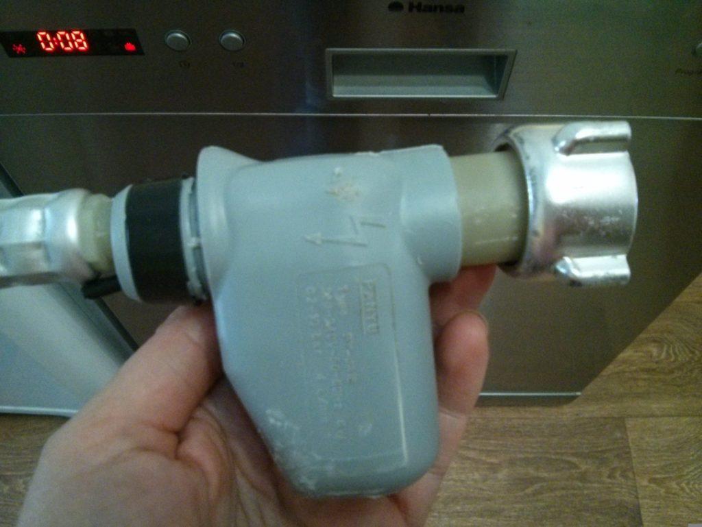Наливной клапан посудомоечной машины