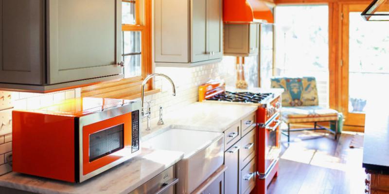 Правильная установка СВЧ на кухне