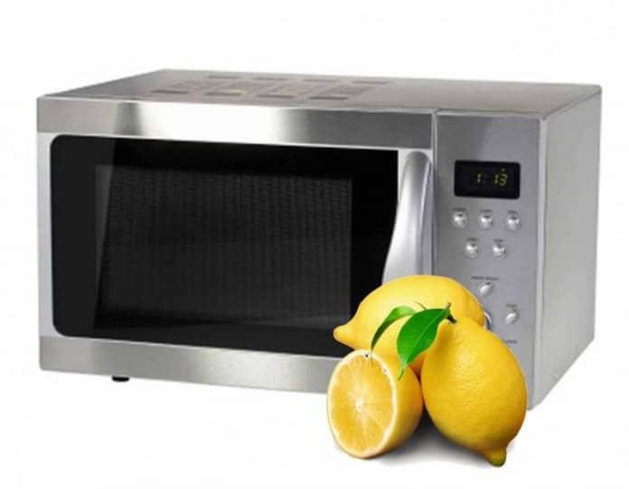 Лимон поможет в очистке