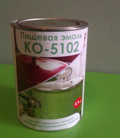 Пищевая эмаль КО-5102