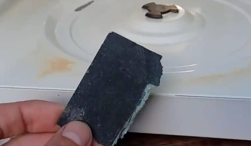 Подготовка поверхности СВЧ перед покраской